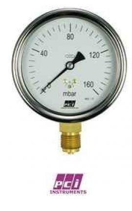 AX200 (Aximax 200) Low Pressure Standard Capsule Gauges