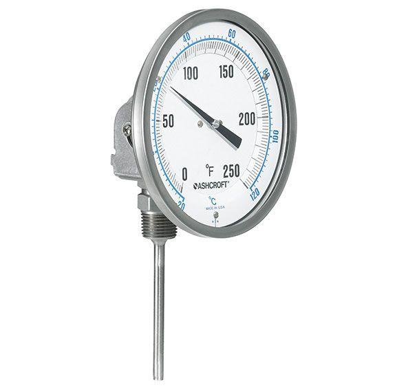 bimetals, nhiệt kế lưỡng kim, đồng hồ nhiệt độ hãng Ashcroft
