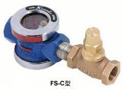 FS C, FS N Thiết bị đo lưu lượng dòng chảy dạng cơ, đồng hồ kim