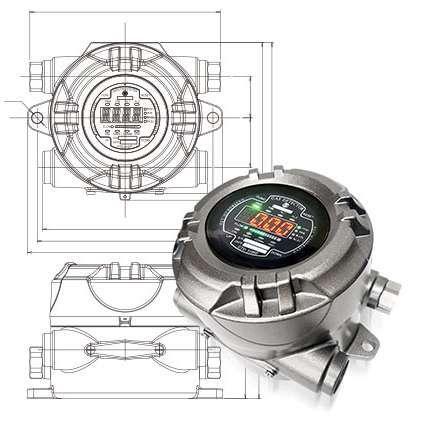 Máy phát hiện khí VOC tiên tiến GTD 5000, GTD 2000