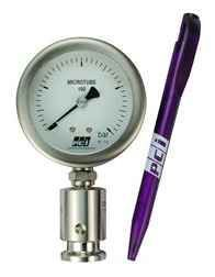 MT100 ( Microtube 100 ) Mini Hygienic Pressure Gauge PCI VietNam