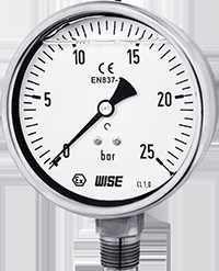 P258 wise - đồng hồ áp suất có dầu P258
