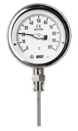 T120 - T120 Wise - Process industry bimetal thermometer