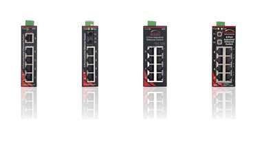 SL-8ES-1, SL-2ES-2/3, SL-8ES-1,... Sixnet SLX Unmanaged Ethernet Switches