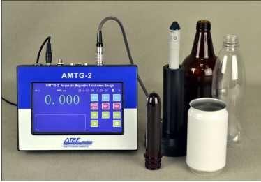 AMTG 2 At2e Thiết bị đo độ dày chai phôi chai tự động
