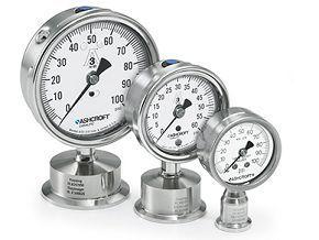 Đồng hồ đo áp suất dùng trong môi trường sạch