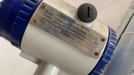 Đồng hồ đo lưu lượng khí CNG RIF300-DN80 hãng Riel