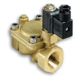FSV 40 - 2-way Solenoid Valve for Water, Hydraulic Oil and Air