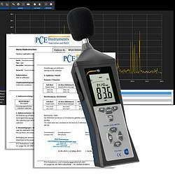 PCE-322ALEQ-ICA incl.   Noise Meter / Sound Meter  ISO Calibration Certificate   PCE Viet Nam