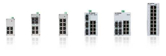110FX2, 104TX, 116TX,... N-Tron 100 Unmanaged Ethernet Switches