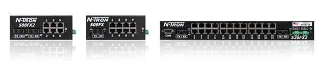 516TXN, 526FX2, 508TX,... N-Tron 500 Unmanaged Switches - RedLion Viet Nam