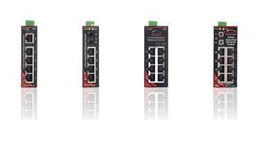 SL-8ES-1, SL-2ES-2/3, SL-8ES-1,... Sixnet SLX Unmanaged Ethernet Switches
