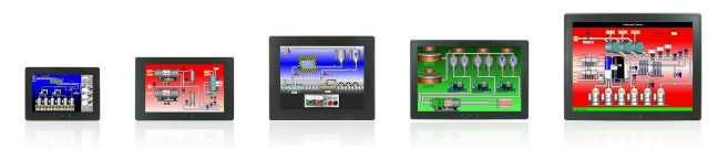 G09C0000, G12C1100, G15C1100,...  Rugged Graphite HMIs