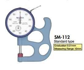 SM-112-3A SM-112FE SM-112-40g Đồng hồ đo độ dày