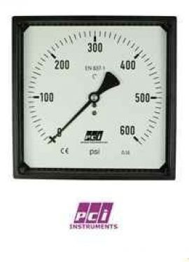 SQ100 Square Profile Pressure Gauge PCI VietNam