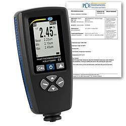 PCE-CT 5000H-ICA incl.  Thickness Gauge  ISO Calibration Certificate   PCE Viet Nam