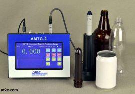 máy đo dộ dày chai pet, chai thuỷ tinh, phôi chai, lon amtg 2 at2e