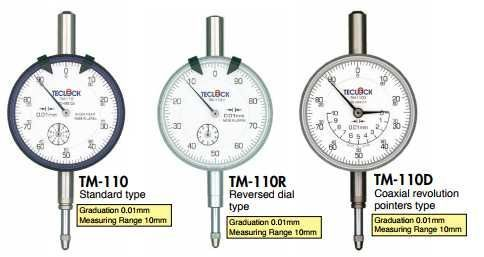 TM-110R TM-110P TM-110-4A  Đồng hồ so  Dial Indicators