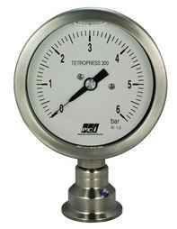 TP300 + HYGIENIC SEAL Hygienic Pressure gauge