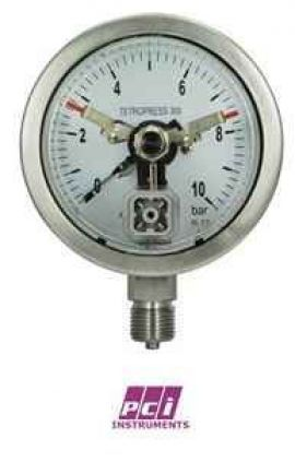 TP300 + Mxx Contact Switch Pressure Gauge PCI VietNam