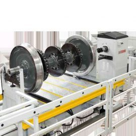 Máy cân bằng, lắp rắp vành bánh xe dùng cho công nghiệp ô tô